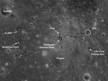 les américains sur la lune